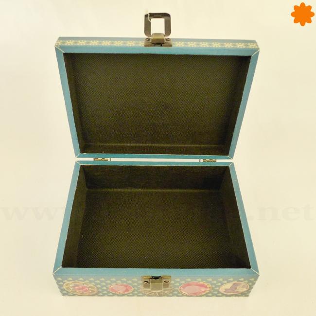 3801fa5b512c Caja de Madera para Guardar Joyas y Bisutería