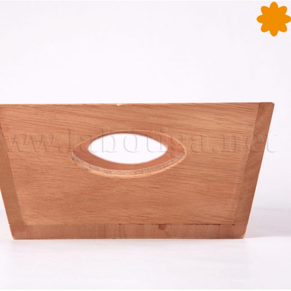 Caja de madera para el pan pain cuit