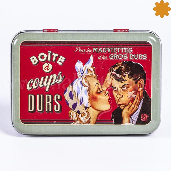 Botiquín Vintage Divertida Caja para Solucionar los Golpes Duros