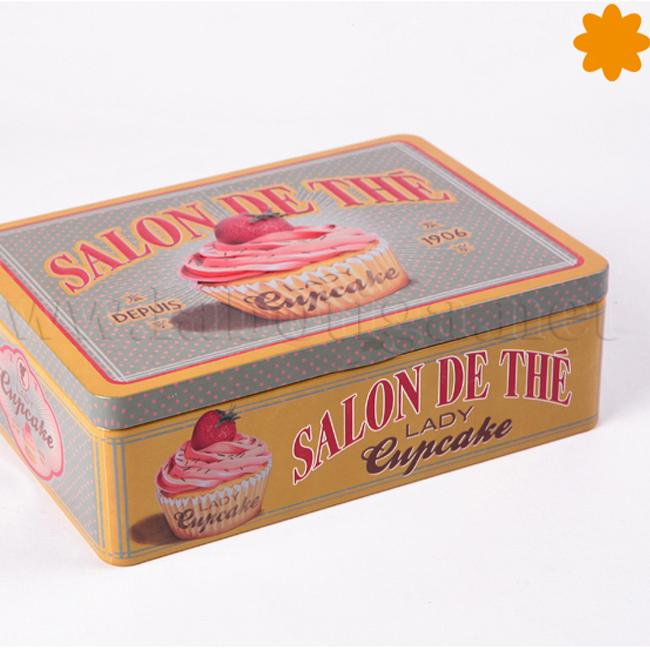 Caja para el te del Salon de thé LadyCupcake