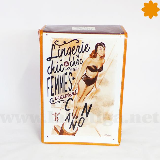 Original caja chic para ropa