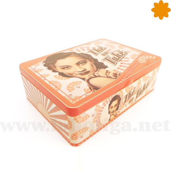 Caja perfecta para guardar los sobrecitos de té Thé au Také