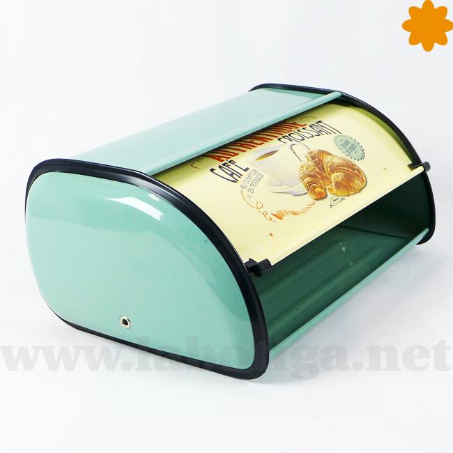 Cajón metálico para guardar el pan