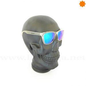 calavera color negro mate de cristal para gafas y gorras