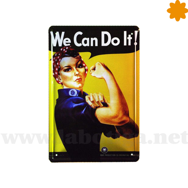 Cartel feminista We Can Do it