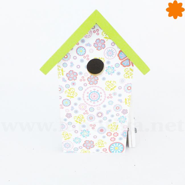 Casa para pájaros ideal para decorar