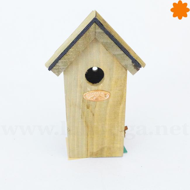 Casa para pájaros para colgar en la pared