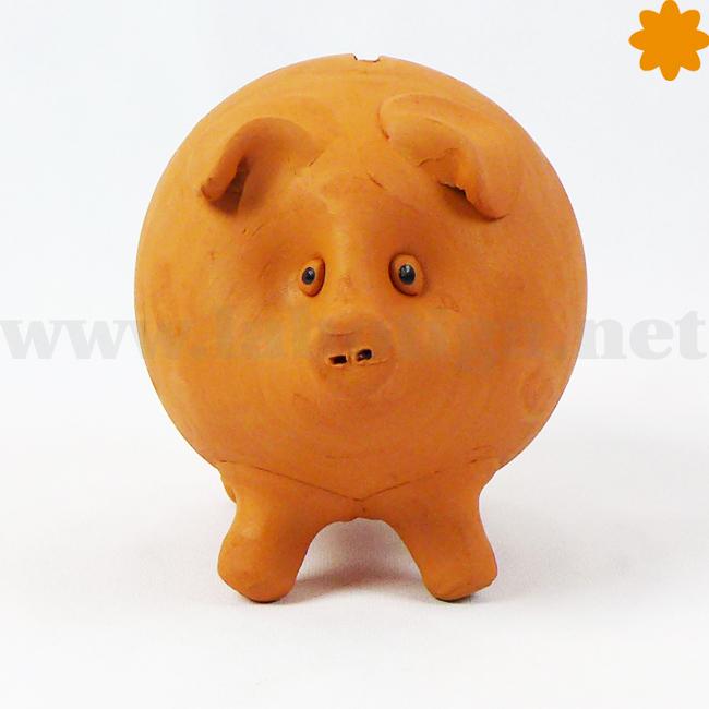 hucha cerdo tamaño mediano