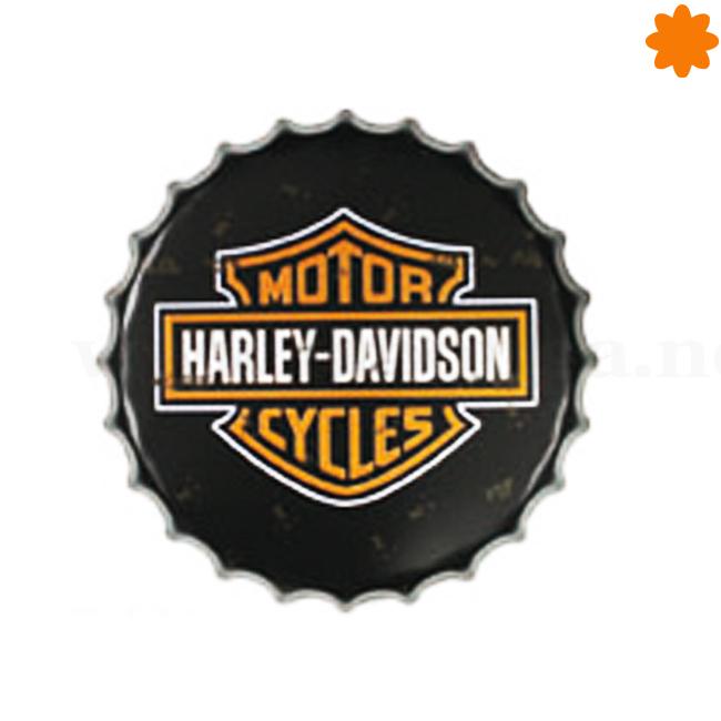 Chapa gigante Harley Davidson para regalar a un coleccionista