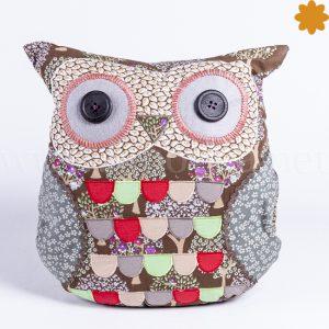 Coj n buho lila verde y rojo estilo patchwork en venta online - Estilo patchwork ...
