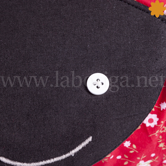 cojín mariquita rojo para decoraciones