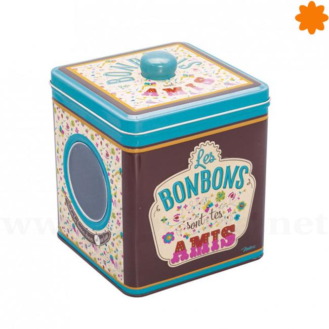 Divertido recipiente para guardar bombones y caramelos
