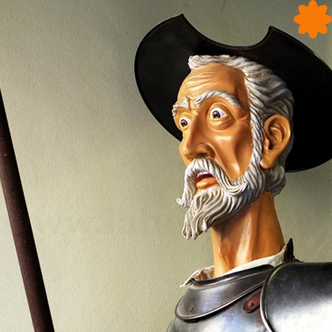 Caganer de Don Quijote de la Mancha