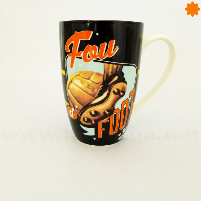fantástica taza retro un regalo ideal para un hincha del futbol