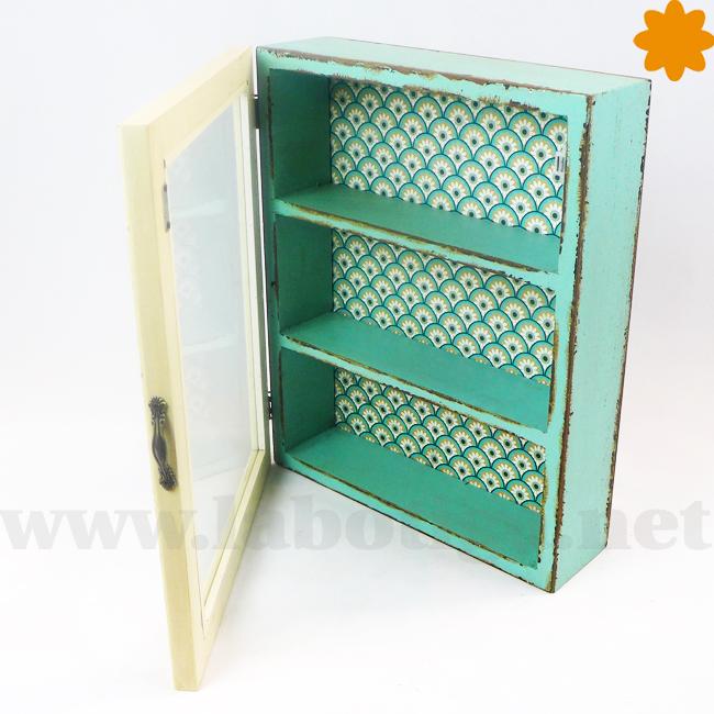 estanteria de madera para colgar