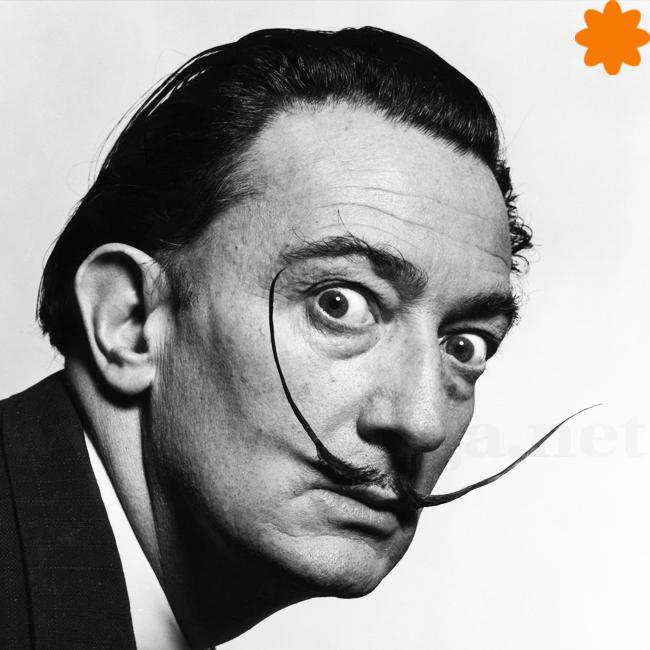 caganer de Salvador Dalí
