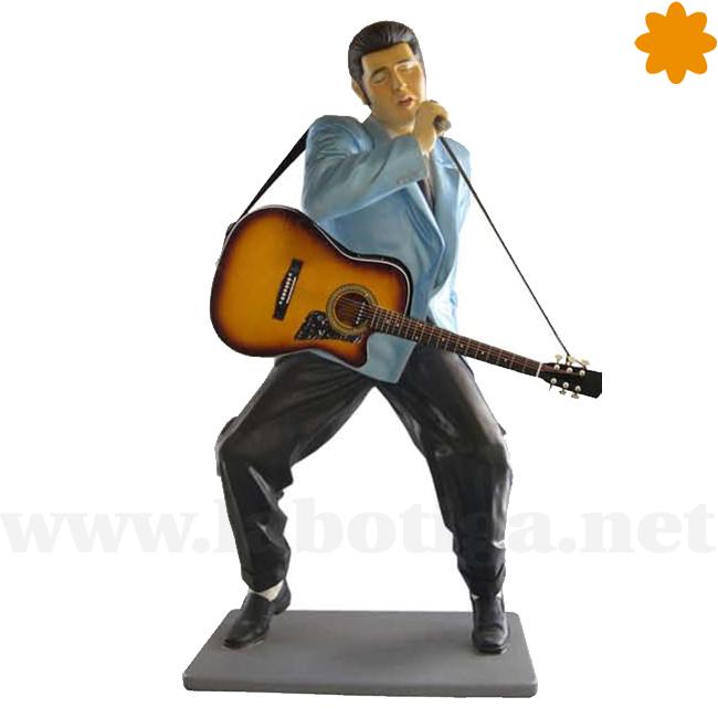 Figura de Elvis Tamaño Real