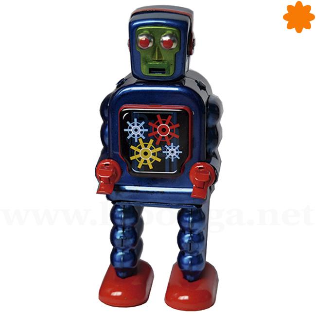 Gearing azul el juguete retro perfecto para regalar a un niño