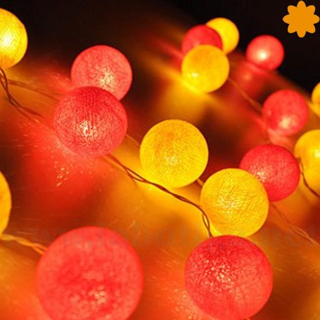 colorida guirnalda luces algodon rio janeiro