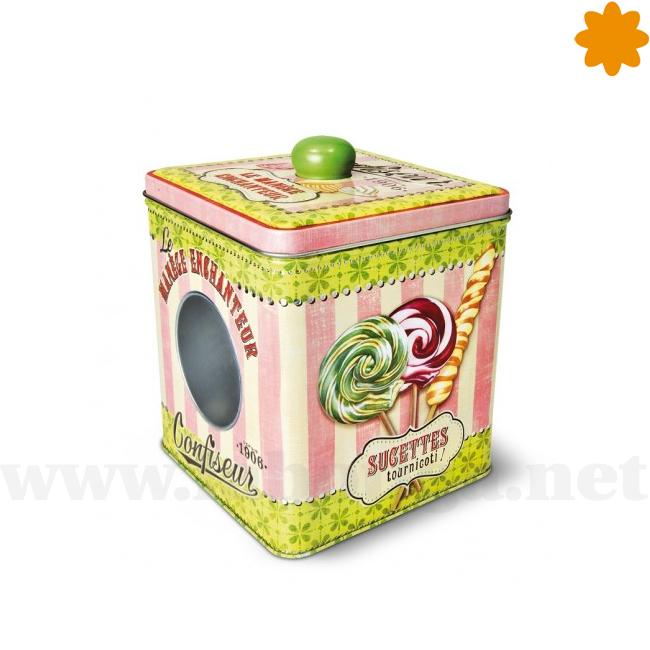 caja chic que parece fantástica para guardar caramelos