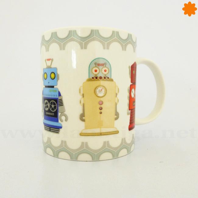 taza café robots