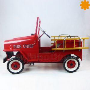 lateral del coche de bomberos