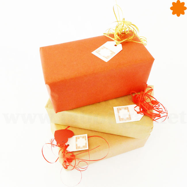 Lazo de regalo dorado