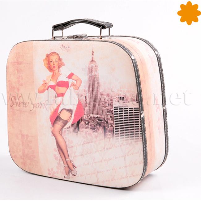 Maleta de Marilyn Monroe levantando la falda Nueva York