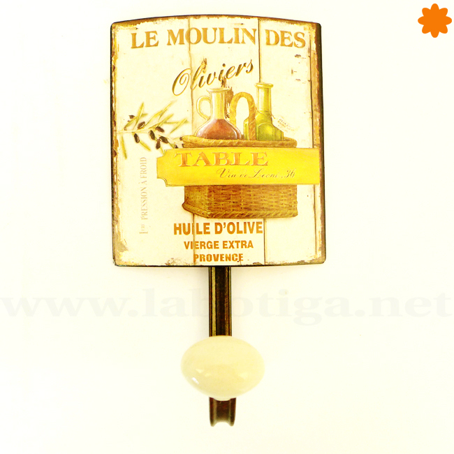 Percha idividual le moulin des oliviers ideal para decorar la cocina