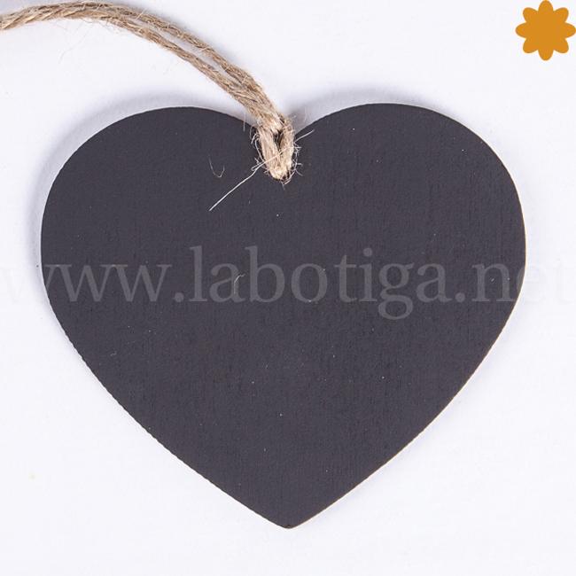 Pizarras Pequeñas con Forma de Corazón Ideales para Eventos y Fiestas