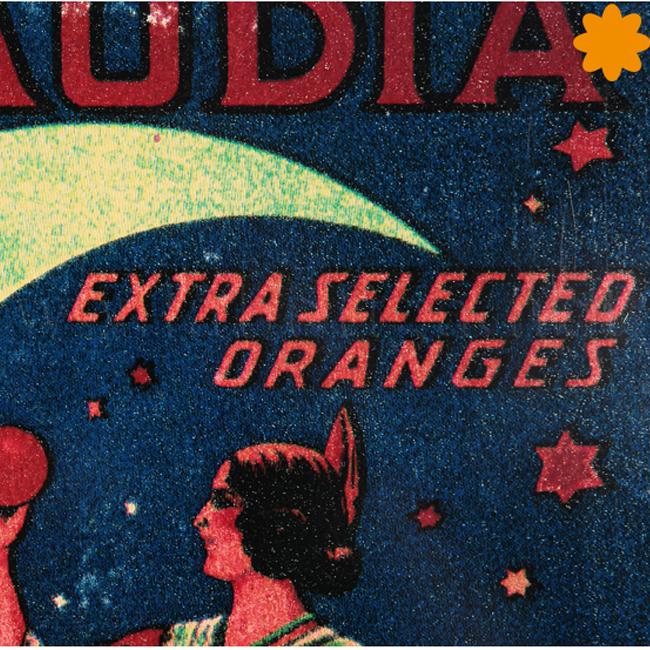 Placa metálica publicidad vintage