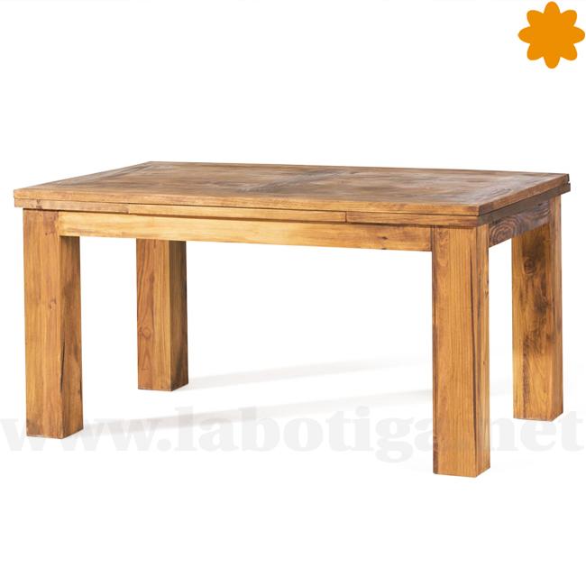 Practica mesa de madera extensible