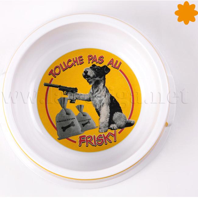 El recipiente comida perro toliche pas au frisky para regalar