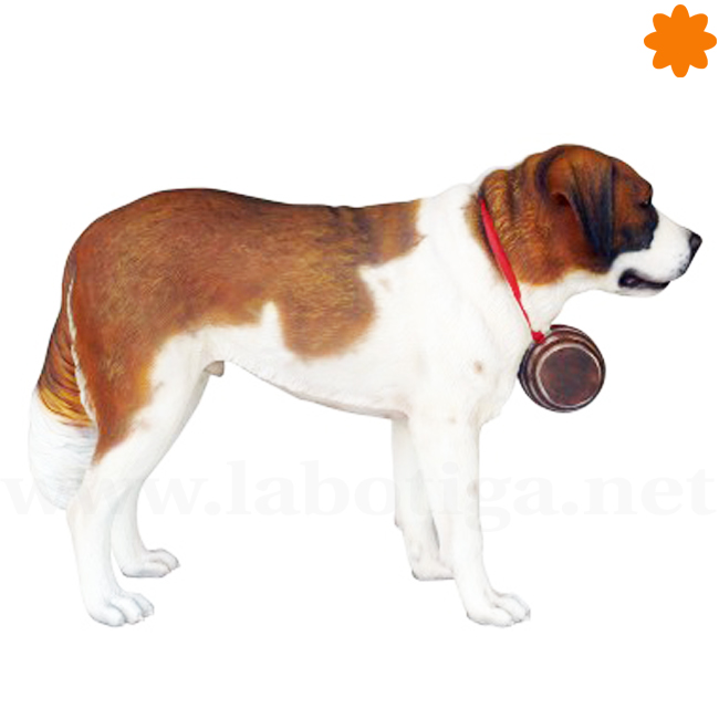 Figura San Bernardo perro