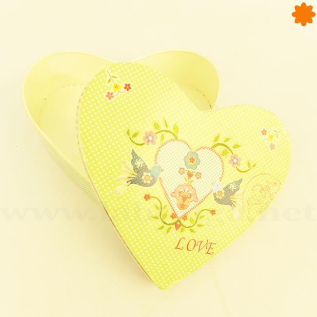 Caja corazón ideal para sorprender el día de San Valentín