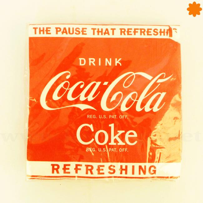 Servilletas de papel de Coca Cola para ocasiones especiales