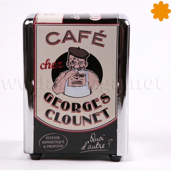 Servilletero Café Georges Clounet