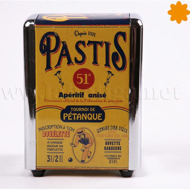Dispensador de servilletas Pastis 51º