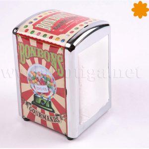 servilleteros metalicos retro bonbons