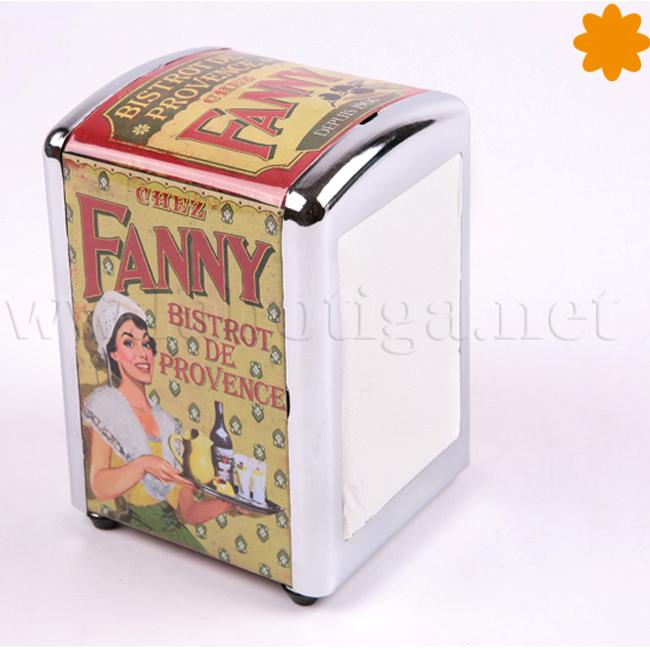 Dispensador de servilletas Chez Fanny