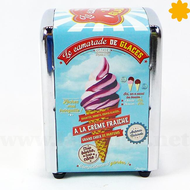 El dispensador ideal para una heladería retro