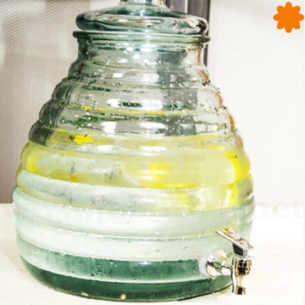 tarro colmena de cristal