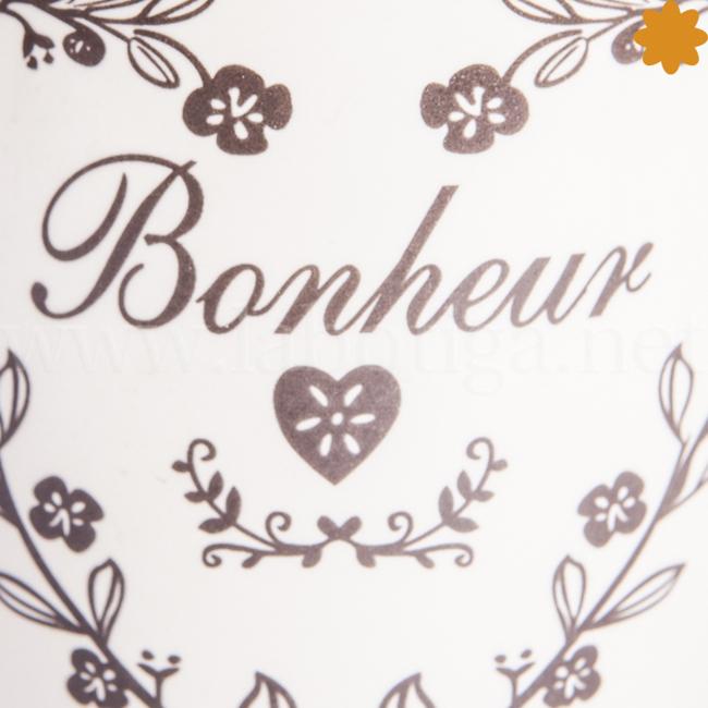 Taza de cerámica bonheur