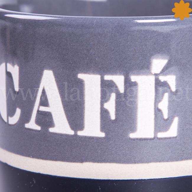 Taza de cerámica para café