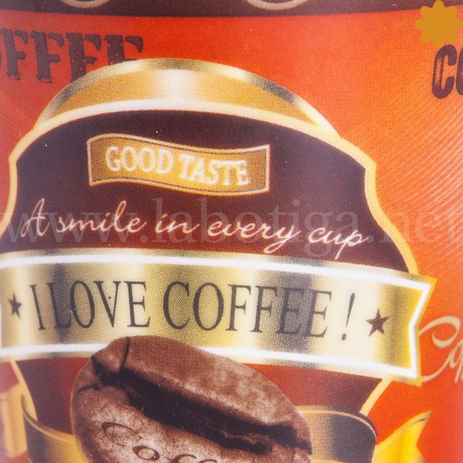 Taza i love coffee