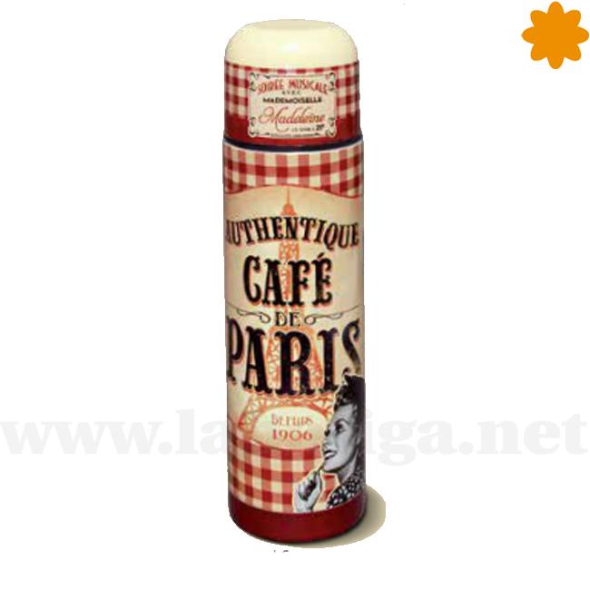 Termo para bebida Authentique Cafe de Paris