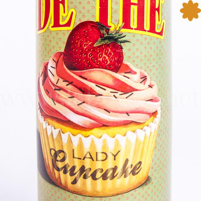 Termo Salón de té Lady Cupecake Un regalo divertido para un chica