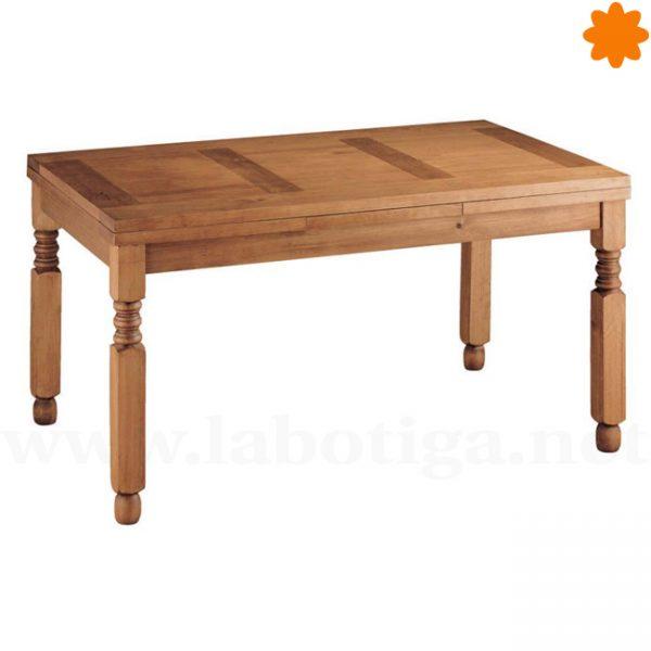 12163 mesa de madera extensible ideal para el comedor