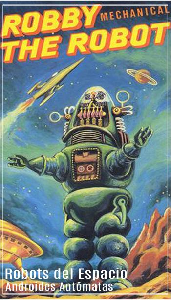 Robots del espacio