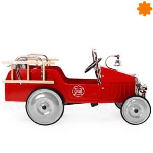 Coche de pedales clásico bombero